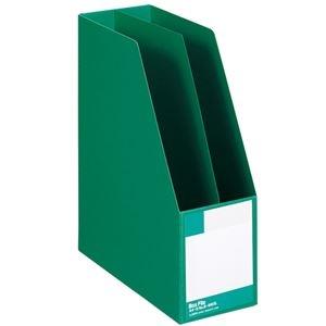 その他 (まとめ) ライオン事務器 ボックスファイル 板紙製A4タテ 背幅105mm 緑 B-880S 1冊 【×10セット】 ds-2226873