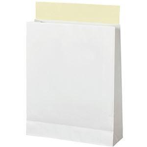 その他 TANOSEE 宅配袋 晒片つや 小 白封かんテープ付 1パック(100枚) 【×10セット】 ds-2226910