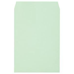 その他 (まとめ) キングコーポレーション ソフトカラー封筒 角2 100g/m2 グリーン K2S100GE 1パック(100枚) 【×10セット】 ds-2226960