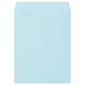 その他 (まとめ) キングコーポレーション ソフトカラー封筒 角3 100g/m2 ブルー K3S100B 1パック(100枚) 【×10セット】 ds-2226976
