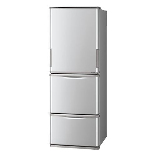 シャープ プラズマクラスター冷蔵庫 SJ-W352E-S【納期目安:約10営業日】
