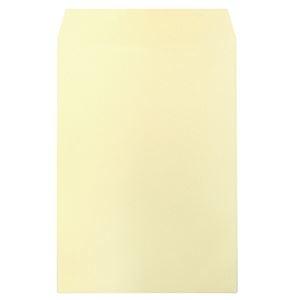 その他 (まとめ) ハート 透けないカラー封筒 テープ付角2 パステルクリーム XEP473 1パック(100枚) 【×10セット】 ds-2227011