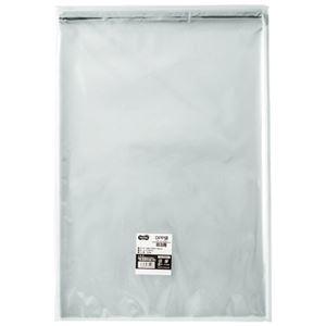 その他 (まとめ) TANOSEE OPP袋 フタ・テープ付B3用 380×530+40mm 1パック(100枚) 【×10セット】 ds-2227029