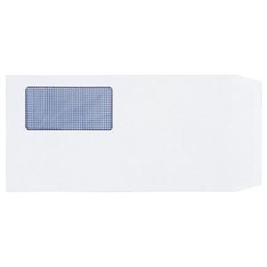 その他 (まとめ) TANOSEE 窓付封筒 裏地紋付 長3 80g/m2 ホワイト 1パック(100枚) 【×10セット】 ds-2227095