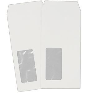 その他 (まとめ) ハート 透けない封筒 ケント 長6 セロ窓付 80g/m2 〒枠なし XQP651 1パック(100枚) 【×10セット】 ds-2227100
