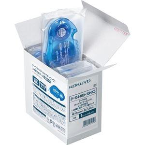 その他 (まとめ) コクヨ テープのり ドットライナーロングしっかり貼るタイプ つめ替え用 10mm×36m タ-D4400-10NX5 1パック(5個) 【×10セット】 ds-2227216