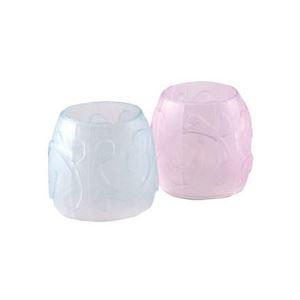 その他 (まとめ) TANOSEE カラー指サック S ピンク3個・ブルー2個 1セット(10パック) 【×10セット】 ds-2228502