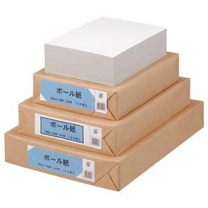 その他 (まとめ) TANOSEE ボール紙 B5 1パック(100枚) 【×10セット】 ds-2228898