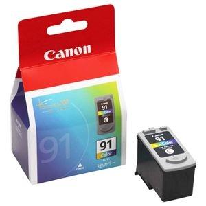 その他 (まとめ) キヤノン Canon FINEカートリッジ BC-91 3色一体型 大容量 0393B001 1個 【×10セット】 ds-2230402