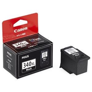 その他 (まとめ) キヤノン Canon FINEカートリッジ BC-340XL ブラック 大容量 5211B001 1個 【×10セット】 ds-2230406