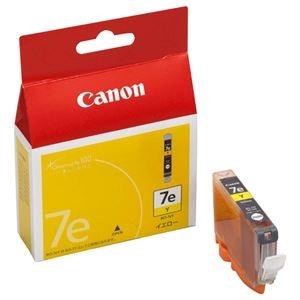 その他 (まとめ) キヤノン Canon インクタンク BCI-7eY イエロー 0367B001 1個 【×10セット】 ds-2230465