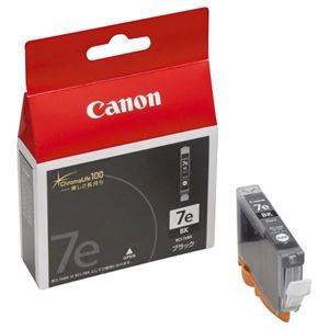 その他 (まとめ) キヤノン Canon インクタンク BCI-7eBK ブラック 0364B001 1個 【×10セット】 ds-2230468