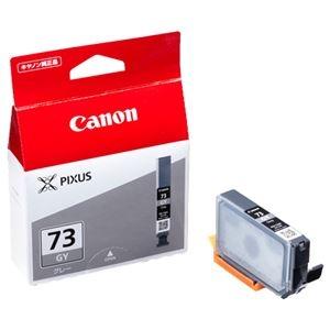 その他 (まとめ) キヤノン Canon インクタンク PGI-73GY グレー 6399B001 1個 【×10セット】 ds-2230507