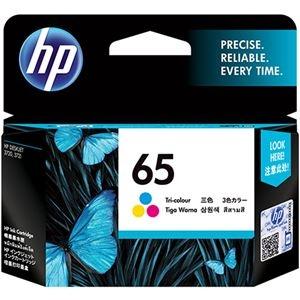 その他 (まとめ) HP HP65 インクカートリッジカラー N9K01AA 1個 【×10セット】 ds-2230570