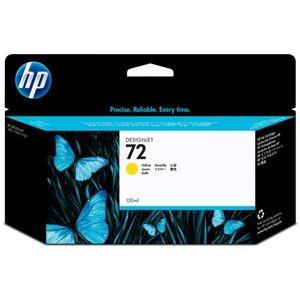 その他 (まとめ) HP72 インクカートリッジ イエロー 130ml 染料系 C9373A 1個 【×10セット】 ds-2230660