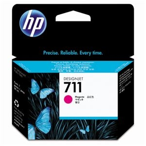 その他 (まとめ) HP711 インクカートリッジ マゼンタ 29ml 染料系 CZ131A 1個 【×10セット】 ds-2230727