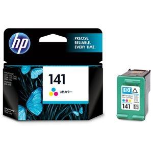 その他 (まとめ) HP141 プリントカートリッジ カラー CB337HJ 1個 【×10セット】 ds-2230730