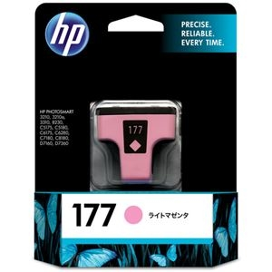 その他 (まとめ) HP177 インクカートリッジ ライトマゼンタ C8775HJ 1個 【×10セット】 ds-2230770