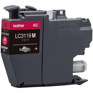 その他 (まとめ) ブラザー インクカートリッジ マゼンタ大容量 LC3119M 1個 【×10セット】 ds-2230788
