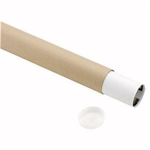 その他 (まとめ) TANOSEE 製図用紙管(ポリ蓋付き) A1(650mm) 1箱(9本) 【×10セット】 ds-2230942