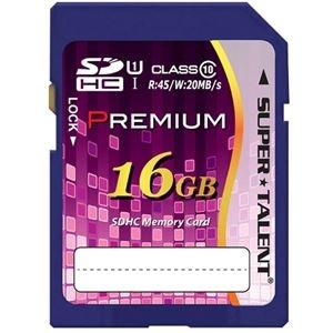 その他 (まとめ) スーパータレントUHS-I対応SDHCメモリーカード CLASS10 16GB ST16SU1P 1枚 【×10セット】 ds-2231516