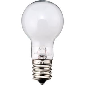 その他 (まとめ) TANOSEE ミニクリプトン電球 40W形 E17口金 ホワイトタイプ 1パック(6個) 【×10セット】 ds-2231609