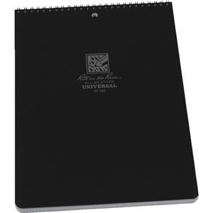 その他 ライトインザレイン トップスパイラルノートブック ユニバーサル ブラック 785 1冊 【×10セット】 ds-2231644