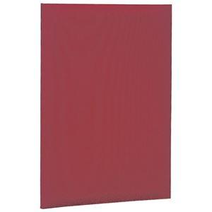 その他 証書ファイル 布クロス貼りタイプ 二つ折りタイプ A4 赤 【×10セット】 ds-2232002