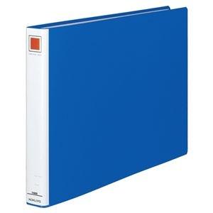 その他 (まとめ) コクヨ チューブファイル(エコ) 片開き A3ヨコ 300枚収容 背幅45mm 青 フ-E633B 1冊 【×10セット】 ds-2232043