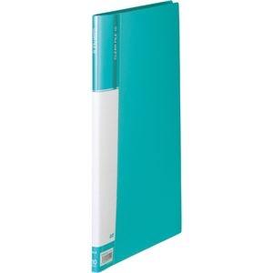 その他 (まとめ) TANOSEEクリヤーファイル(台紙入) A4タテ 10ポケット 背幅11mm ライトブルー 1セット(10冊) 【×10セット】 ds-2232115