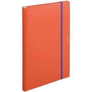 その他 (まとめ) キングジム 二つ折りクリアーファイルコンパック A3 10ポケット オレンジ 5896H 1冊 【×10セット】 ds-2232271