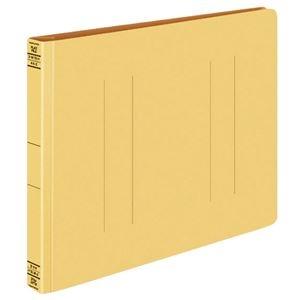 その他 (まとめ) コクヨ フラットファイルW(厚とじ) A4ヨコ 250枚収容 背幅28mm 黄 フ-W15Y 1セット(10冊) 【×10セット】 ds-2232324