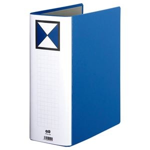 その他 (まとめ) TANOSEE 両開きパイプ式ファイル A4タテ 1000枚収容 背幅116mm 青 1冊 【×10セット】 ds-2232377