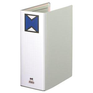 その他 (まとめ) TANOSEE パイプ式ファイル 片開き A4タテ 1000枚収容 背幅116mm グレー 1冊 【×10セット】 ds-2232382