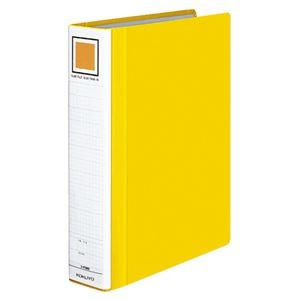 その他 (まとめ) コクヨ チューブファイル(エコツインR) A4タテ 500枚収容 背幅65mm 黄 フ-RT650Y 1冊 【×10セット】 ds-2232422