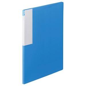 その他 (まとめ) TANOSEE クリヤーブック(クリアブック) A4タテ 12ポケット 背幅10mm ブルー 1セット(10冊) 【×10セット】 ds-2232593