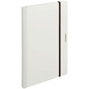 その他 (まとめ) キングジム 二つ折りクリアーファイルコンパック A3 10ポケット 白 5896H 1冊 【×10セット】 ds-2232704