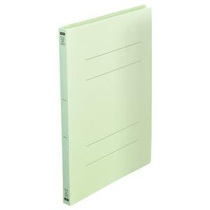 その他 (まとめ) TANOSEEフラットファイル(再生PP) A4タテ 150枚収容 背幅18mm グリーン1セット(25冊:5冊×5パック) 【×10セット】 ds-2232815