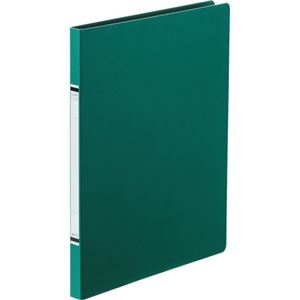 その他 (まとめ) TANOSEEクランプファイル(紙表紙) A4タテ 100枚収容 背幅18mm 緑 1セット(10冊) 【×10セット】 ds-2232944
