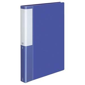 その他 (まとめ) コクヨ クリヤーブック(クリアブック)(POSITY) 固定式 A4タテ 60ポケット 背幅35mm ブルー P3ラ-L60NB 1冊 【×10セット】 ds-2233003