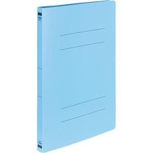 その他 (まとめ) TANOSEE書類が出し入れしやすい丈夫なフラットファイル「ラクタフ」 A4タテ 150枚収容 背幅20mm ブルー1パック(5冊) 【×10セット】 ds-2233232