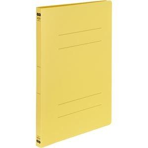 その他 (まとめ) TANOSEE書類が出し入れしやすい丈夫なフラットファイル「ラクタフ」 A4タテ 150枚収容 背幅20mm イエロー1パック(5冊) 【×10セット】 ds-2233236