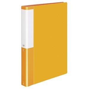 その他 (まとめ) コクヨ クリヤーブック(クリアブック)(POSITY) 固定式 A4タテ 60ポケット 背幅35mm オレンジ P3ラ-L60NYR 1冊 【×10セット】 ds-2233243