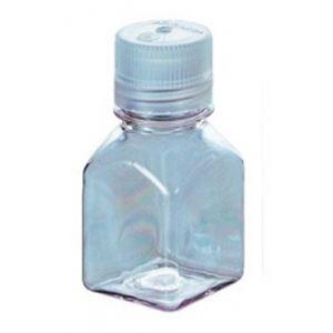 その他 Nalgene透明角型瓶(中栓なし) 2015-0125 125ml (6本) ds-2207046