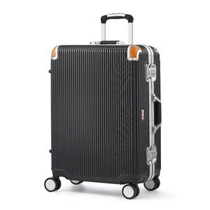 その他 軽量 スーツケース/旅行カバン 【64L ブラック】 4~6泊用 ポリカーボネード TSAロック 4輪ダブルキャスター スイスミリタリー【】 ds-2220180