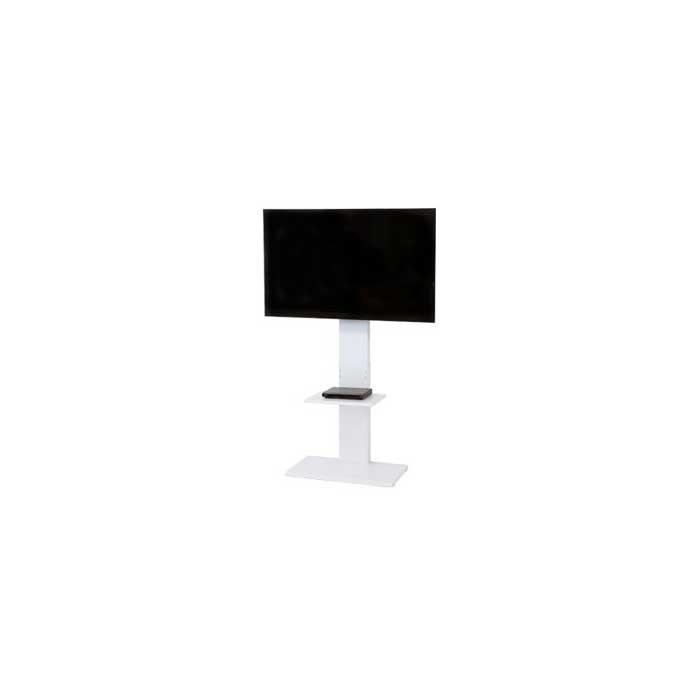 スタンザインテリア 壁掛け風 スマートテレビボード テレビスタンド (ハイタイプホワイト) kr99071wh