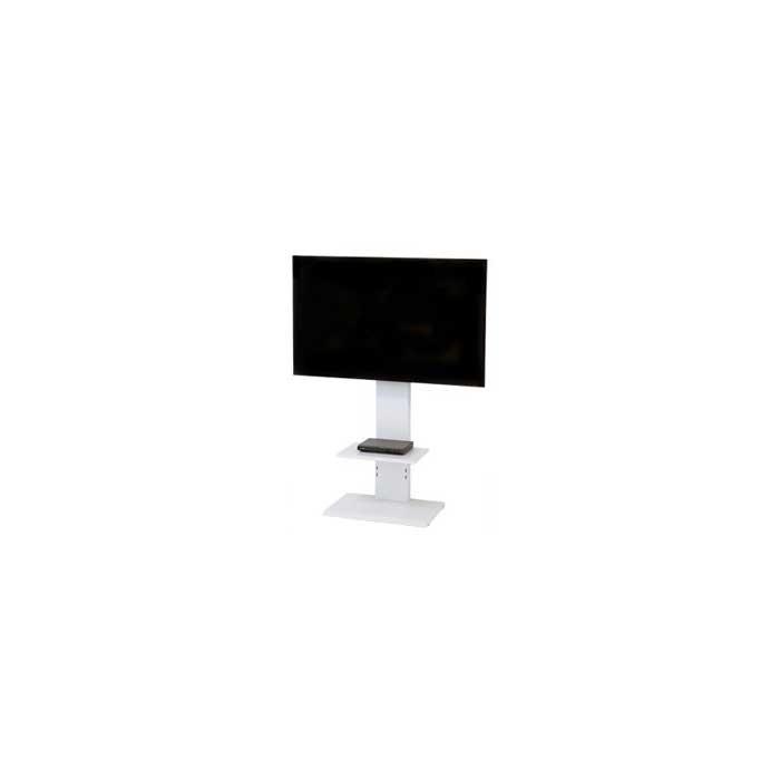 スタンザインテリア 壁掛け風 スマートテレビボード テレビスタンド (ロータイプホワイト) kr99072wh