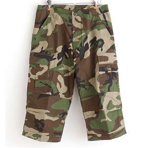 その他 アメリカ軍 BDU クロップドカーゴパンツ /迷彩服パンツ 【XLサイズ】 リップストップ ウッドランド 【レプリカ】 ds-2248176