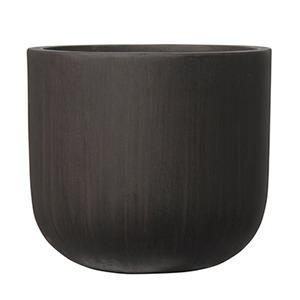 その他 ファイバーセメント製 軽量植木鉢 オーク Uポット アンティークブラウン 40cm 植木鉢 ds-2250526
