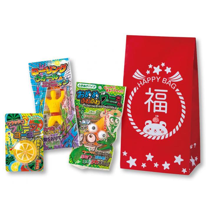 その他 【100個セット】キッズ福袋3点セット おもちゃ 2270033